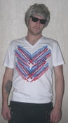 Image of Feather Vneck USA