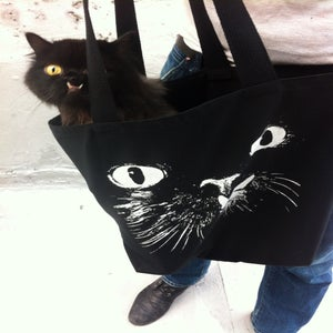 Image of Princess Monster Truck BIG TOTE!