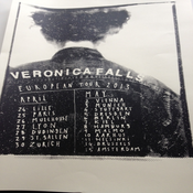 Image of Veronica Falls Limited Edition European Tour Screen Print