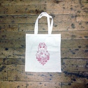 Image of toe - toe tote bag