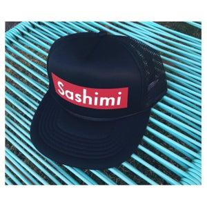 Image of SASHIMI hat (black)