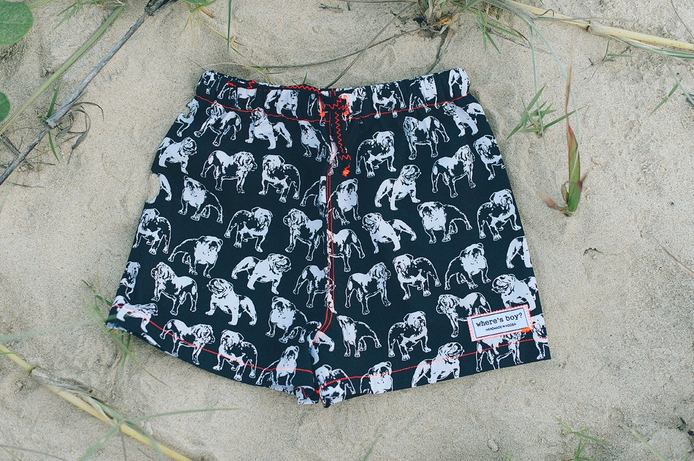 Image of Neon Bulldog Shorts