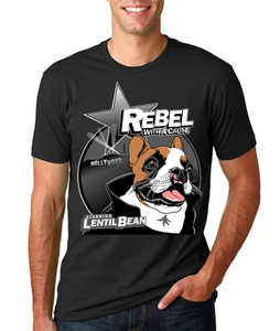 Image of Lentil Rebel Men's Fitted Tshirt