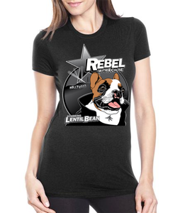 Image of Lentil Rebel Women's Fitted Tshirt