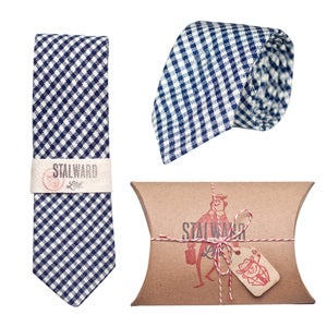 Image of Heavy Navy Gingham