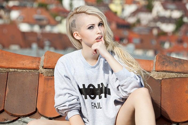 Image of HOLY FAIL Crewneck Sweatshirt