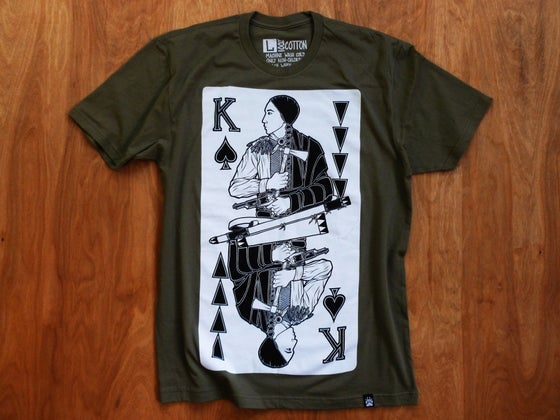 Image of Rebel Kings (Military Green)- Final Print