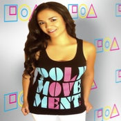 Image of LADIES POLYMOVEMENT13 RETRO RACERBACK TANK