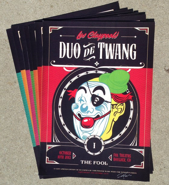 Image of Les Claypool's Duo De Twang Poster Set