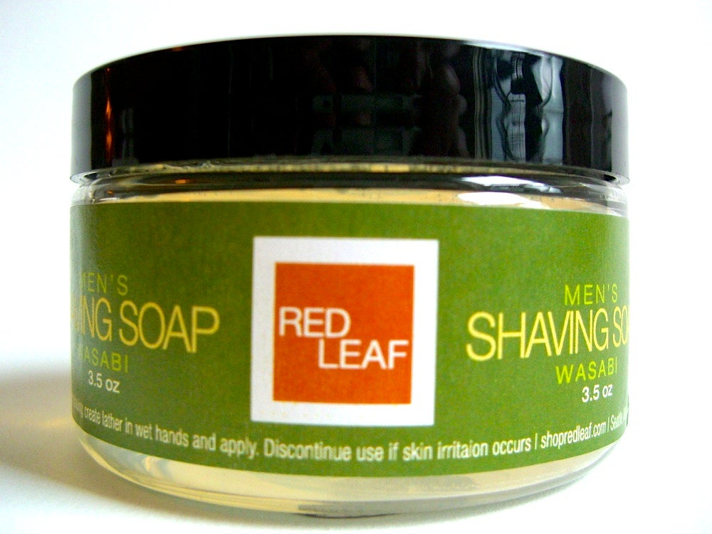 Image of Mens Travel Shaving Soap For Use With a Brush