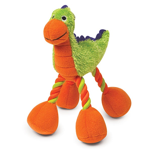 Image of Dino Babies Plush Dog Toy