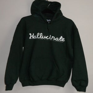 Image of Forest Green Hallucinate Hooded Sweatshirt