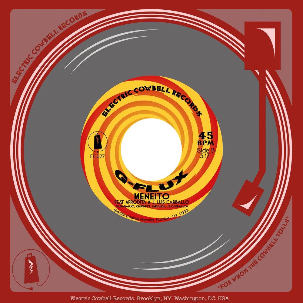 """Image of G-Flux 45RPM 7"""" feat Los Master Plus, Afrodita, Jose Luis Carballo (EC027)"""