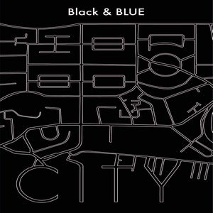 Image of Black & BLUE — CITY