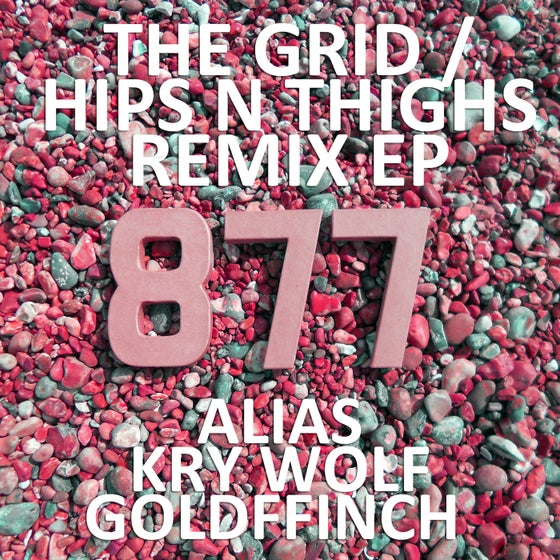Image of My Nu Leng & Majora The Grid/Hips N Thighs Remix EP Vinyl