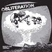 Image of OBLITERATION - WAR IS OUR DESTINY EP