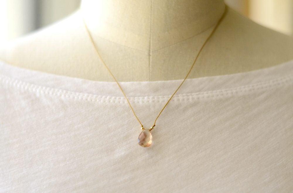 Image of Oregon Sunstone necklace