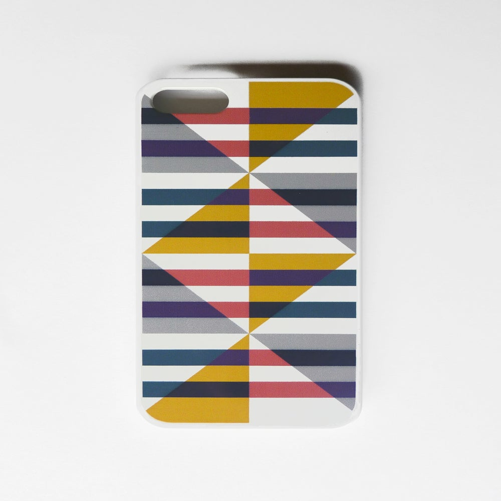 Image of iPhone 4/4s and 5/5s case, print French Riviera Re-Imagined