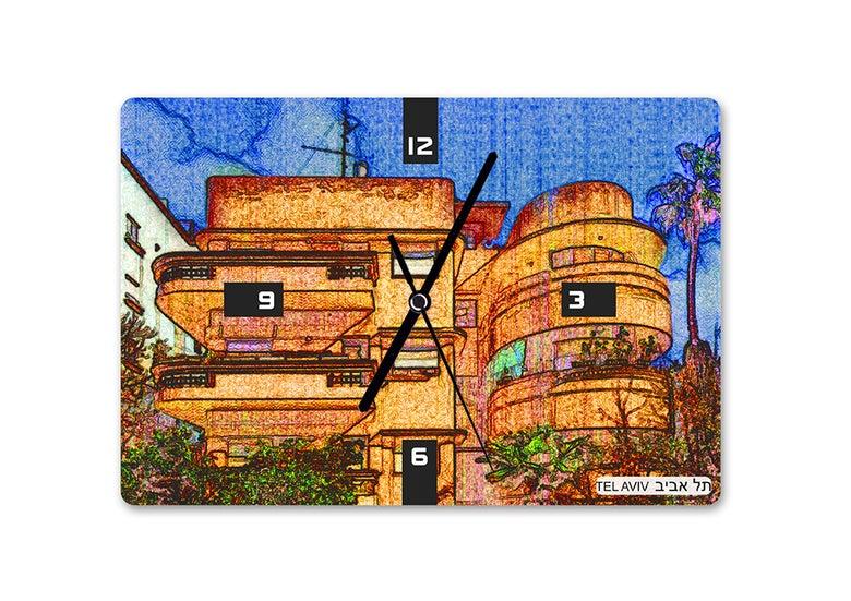 Image of Bauhaus Tel Aviv clock 2 - by Ofek Wertman
