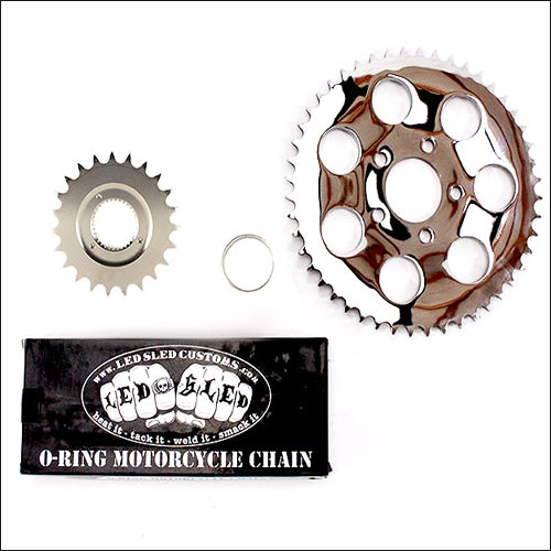 Image of BELT TO CHAIN CONVERSION KIT- (STOCK) 130/150