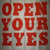 "Image of ""Open Your Eyes"" silk screened poster"