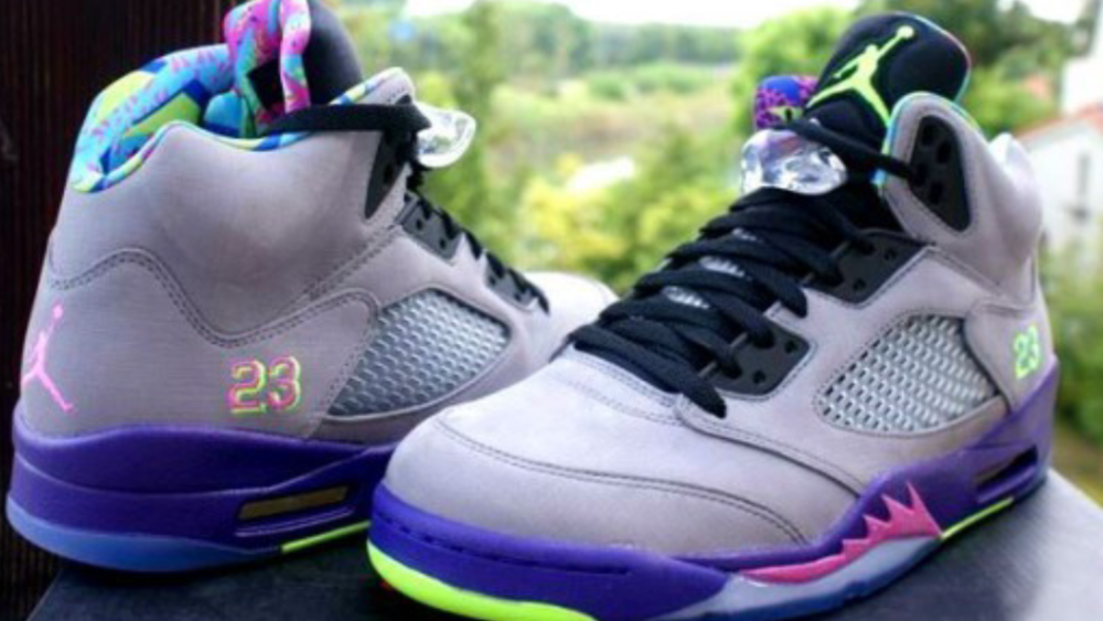 Image of Nike Air Jordan Retro 5 Fresh Prince of Bel Air Limited release