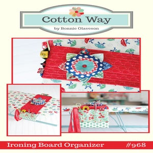 Image of Ironing Board Organizer PDF Pattern #968