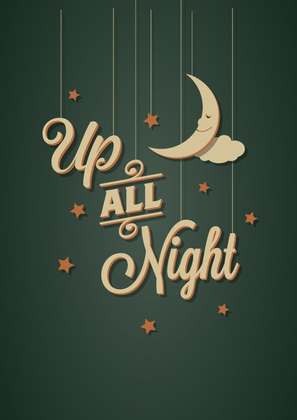 Image of Up all Night poster