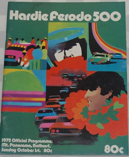 Image of 1972 BATHURST - HARDIE FERODO 500 - RARE PROGRAMME - GREAT CONDITION.