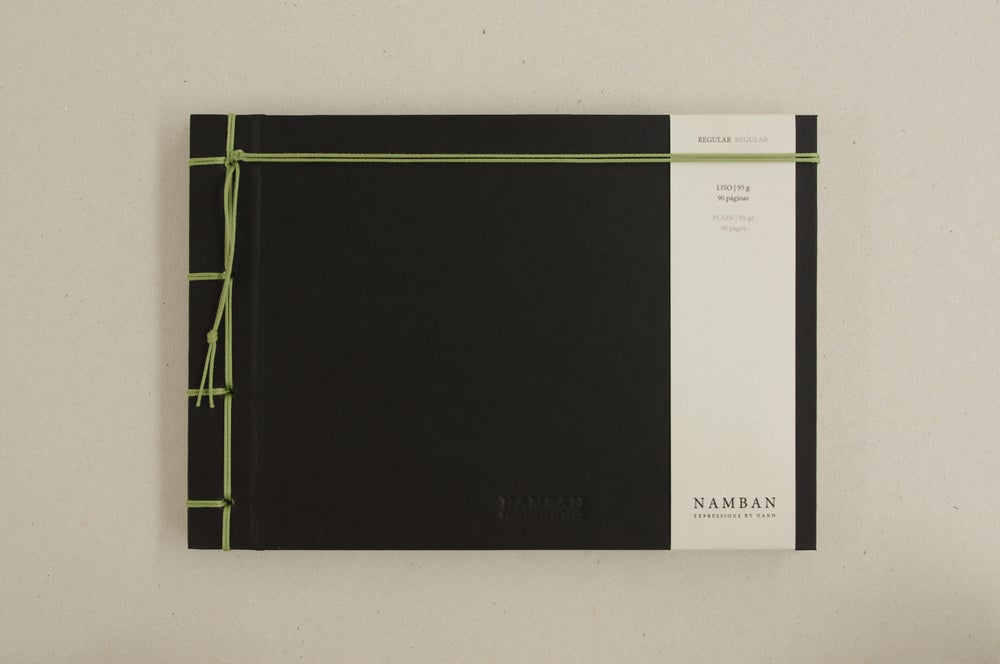 Image of Caderno regular liso | Regular plain notebook A5