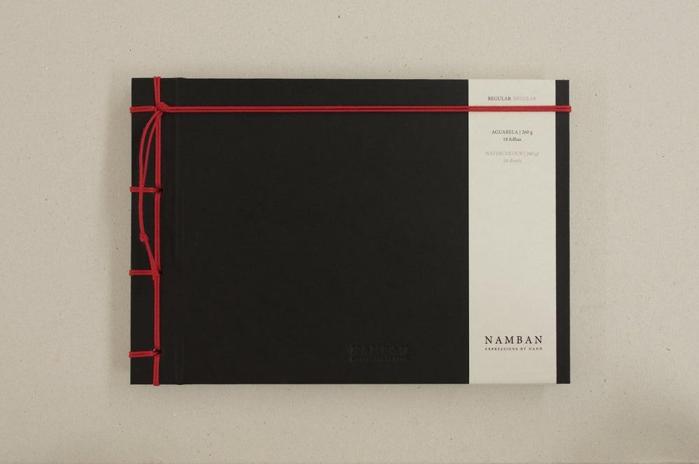 Image of Caderno regular aguarela   Regular watercolour notebook A5
