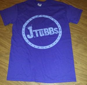 Image of J Tubbs Logo Shirt (Purple)