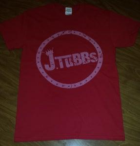 Image of J Tubbs Logo Shirt (Red)
