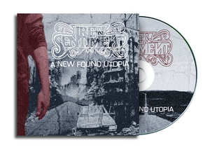 """Image of Ire & Sentiment - """"A New Found Utopia"""" CD"""