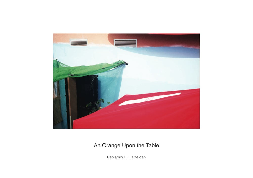 Image of An Orange Upon the Table Photobook