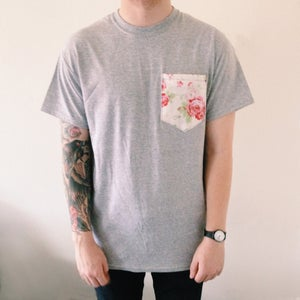 Image of Cath Floral Pocket Tee| NEW!