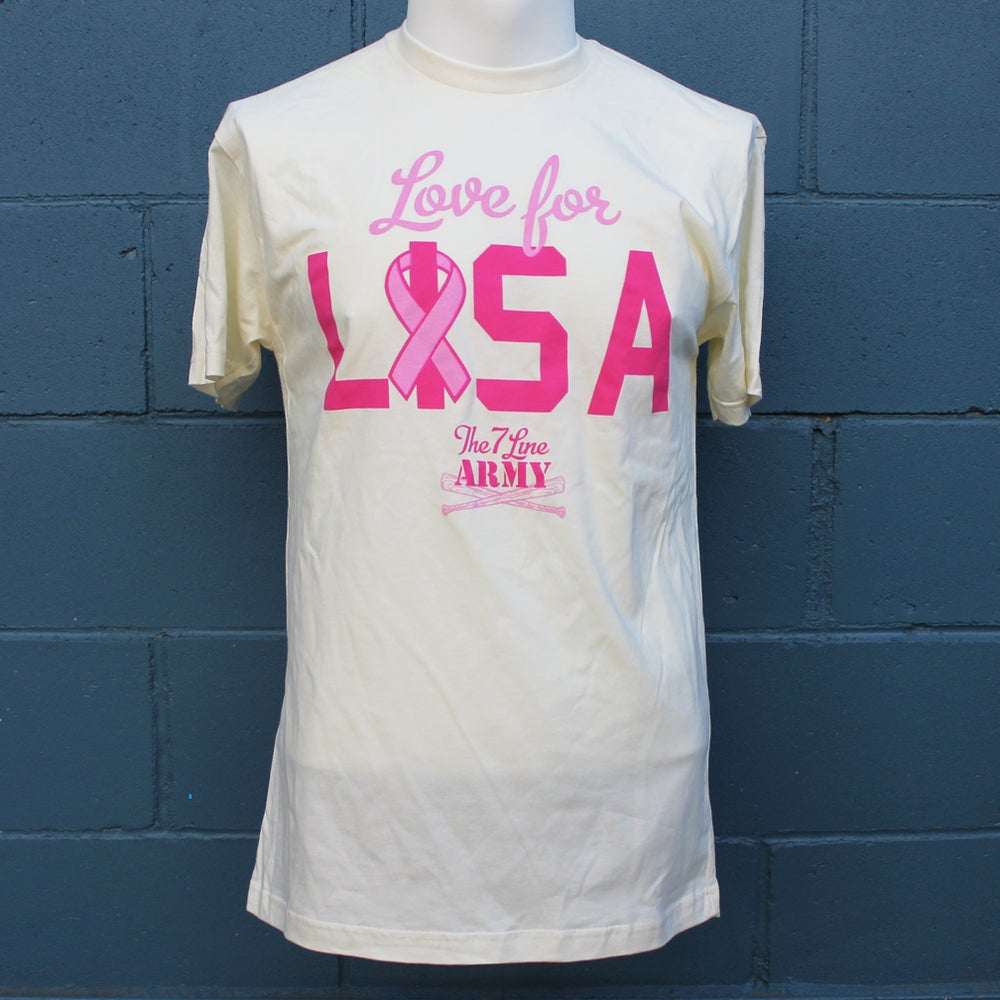 Image of Love For Lisa t-shirt