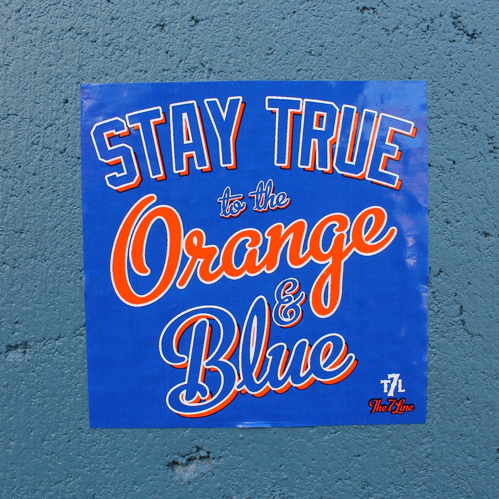 Image of Stay True (sticker)
