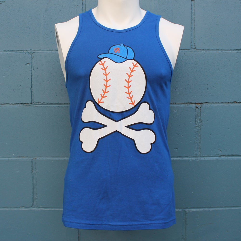 Image of Baseball -n- Bones (tank top)