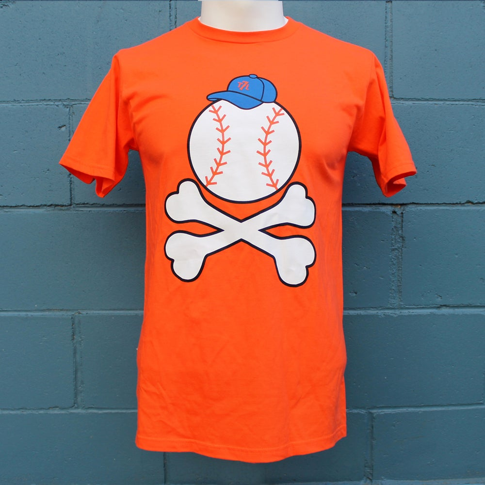 Image of Baseball -n- Bones (orange)