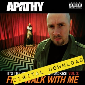 Image of [Digital Download] Apathy - Fire Walk With Me: It's the Bootleg, Muthafuckas! Vol. 3 - DGZ-005