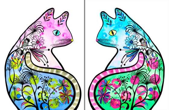 Image of Pussycat Prints