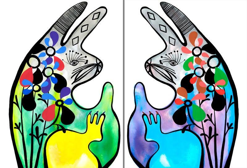 Image of Bunny Prints