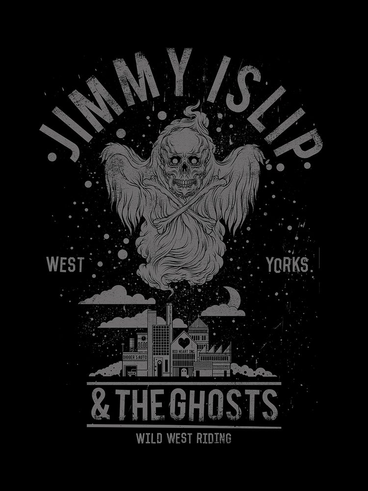 "Image of Ghosts t-shirt & The Wild West Riding 12"" vinyl bundle"