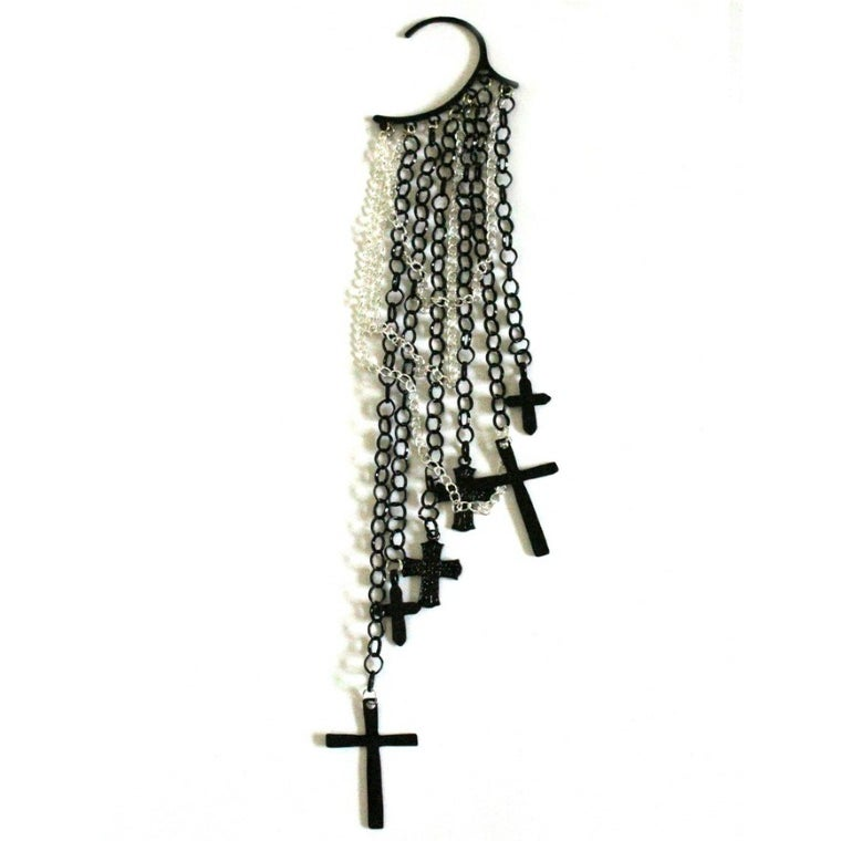 Image of Cross Ear Cuff