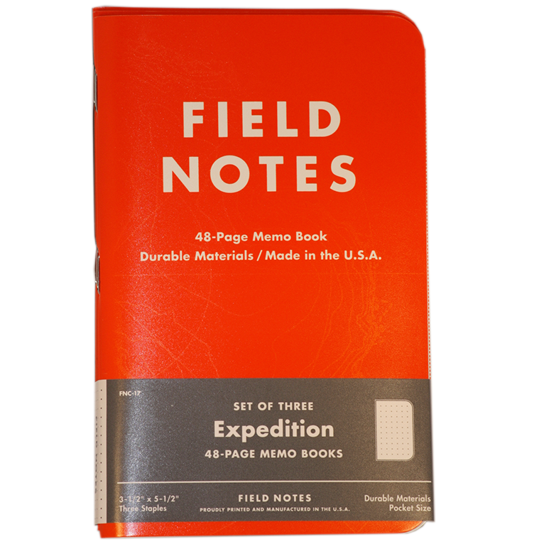 Image of Field Notes - Expedition