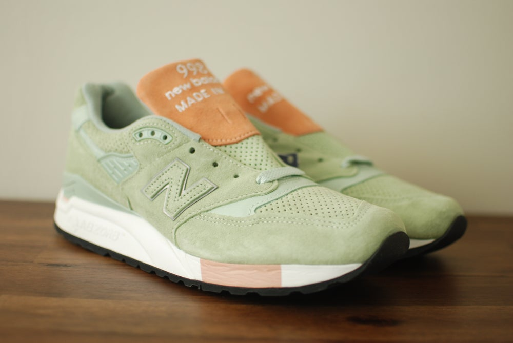 "Image of Concepts x Tannery x New Balance 998 ""Mint"""