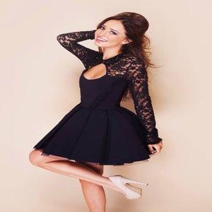 Image of Tempest Black Daydream Dress