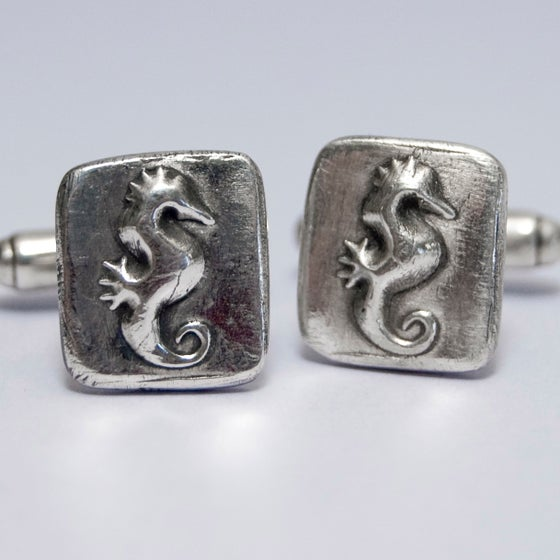 Image of Seahorse Cuff links