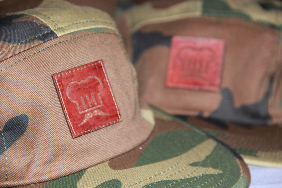Image of 5 Panel Camo Strapback